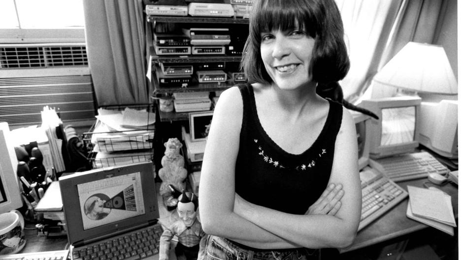 Erfand 1989 in New York die erste Online-Community für Textnachrichten: Stacy Horn.
