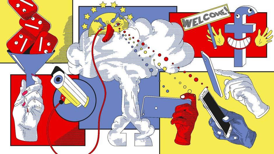 Facebook hat gut lachen: Das neue EU-Gesetz könnte große Tech-Firmen begünstigen anstatt sie zu regulieren.