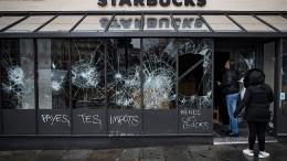 Gelbwesten-Proteste gehen auf Kosten der Ladenbetreiber