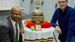 Äthiopischer Kunstschatz war in den Niederlanden versteckt