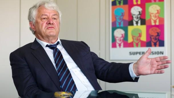 Hasso Plattner - Der Mit-Gründer von SAP spricht in Walldorf mit Stephan Finsterbusch.