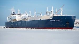 Gas-Tanker kann ohne Eisbrecher durchs Nordpolarmeer fahren