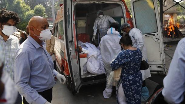 Krankenhäuser voll, Sauerstoff leer