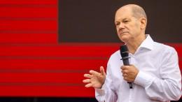 Scholz macht Mindestlohn zur Koalitionsbedingung