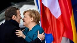 Deutschland und Frankreich besiegeln neuen Freundschaftsvertrag