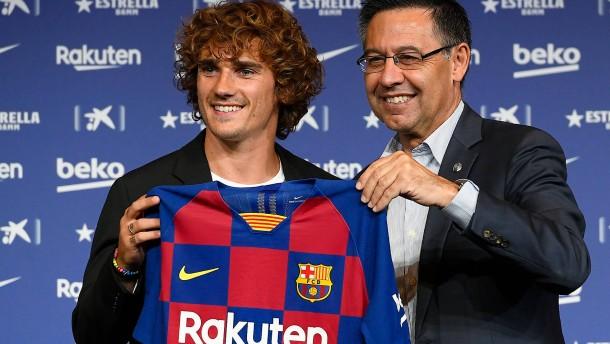 Griezmann unterschreibt beim FC Barcelona