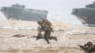Marinemanöver der Nato, so wie hier 2016 an der Ostsee, soll es zukünftig auch häufiger im Schwarzen Meer geben.