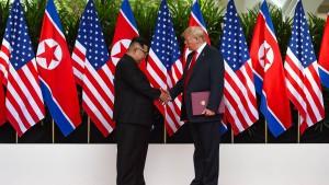 Nächster Gipfel mit Trump und Kim wohl Anfang 2019