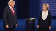 Trumps Märchenkiste und Clintons Halbwahrheiten