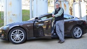 Zu Gast bei Freunden und ihrem Tesla