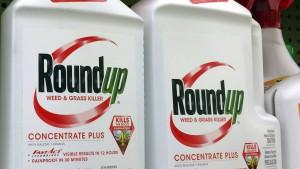 Amerikas Umweltbehörde hält Glyphosat für unbedenklich
