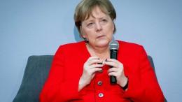 Merkels Worte auf politischer Weltbühne