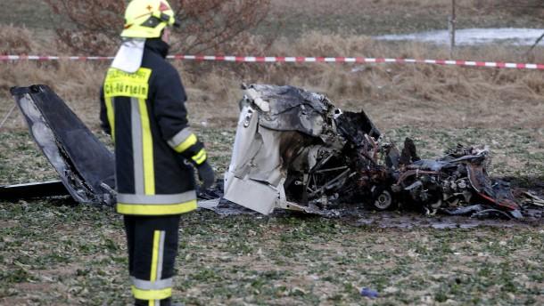 Flugzeugabsturz-Opfer aus Mittelhessen