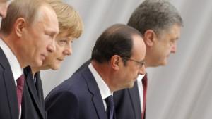 Russland und Ukraine verhandeln in Berlin