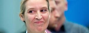 Keine Frau der Zwischentöne: die AfD-Fraktionsvorsitzende Alice Weidel