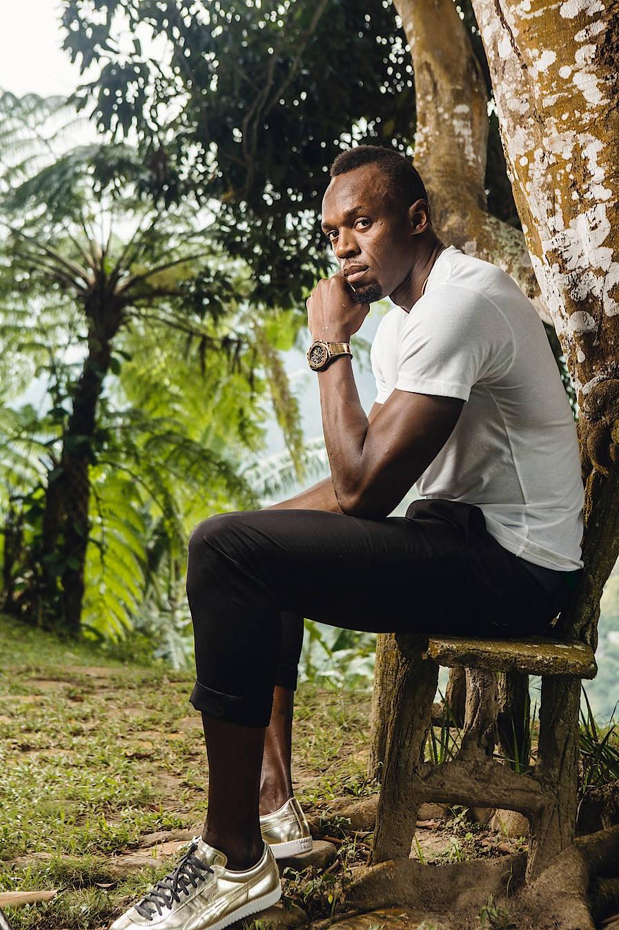 Usian Bolt ist Botschafter der Uhrenmarke Hublot