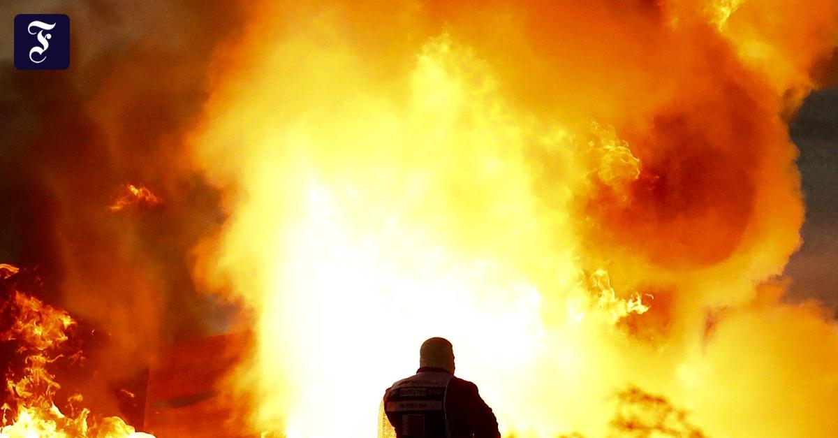"""Formel-1-Fahrer in Flammen: """"Es ist ein Wunder, dass er herausgekommen ist"""""""