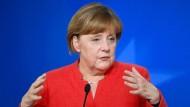 Merkels Vorsprung wächst