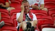 Polnische Fans frustriert