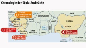 Neue Erkenntnisse über Mutation des Ebola-Virus
