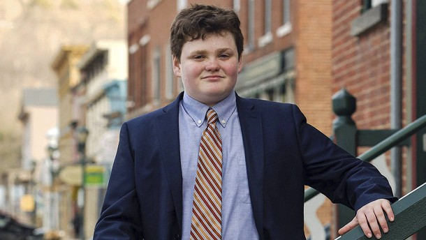 So will ein 14 Jahre alter Junge amerikanischer Gouverneur werden