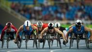 Völlig normal: Das Rollstuhlrennen über 800 Meter bei den Paralympics in Rio