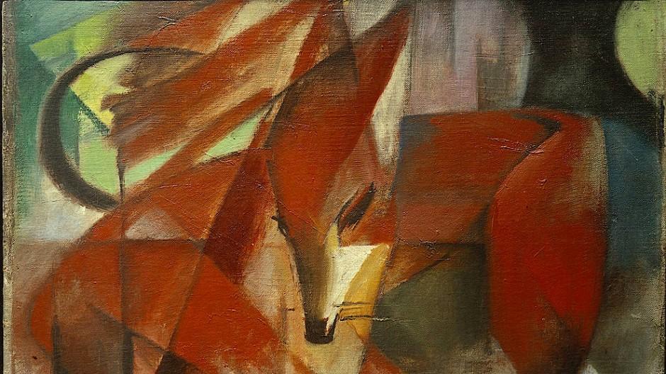 """Das Streitobjekt: """"Die Füchse"""" (1913)"""