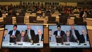 Beratung bei der Klimakonferenz in Bonn