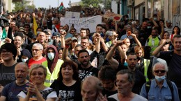 Steigende Infektionszahlen – wachsender Protest