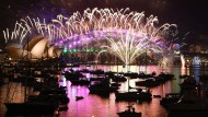 Neuseeland und Australien begrüßen das Jahr 2017