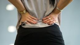 Rückenschmerzen belasten die Arbeitswelt
