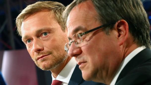 CDU hofft auf schwarz-gelbe Bundesregierung