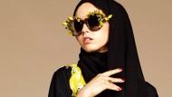 Dolce & Gabbana wirbt 2016 mit einem verschleierten Model für eine muslimische Kollektion.