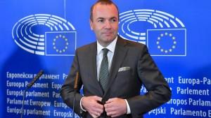 Merkel unterstützt Weber-Kandidatur