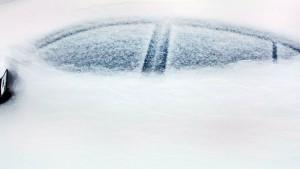 Amerikas Ostküste versinkt im Schnee