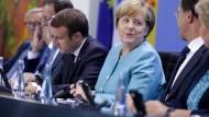 Merkel sieht Fragen des Klimawandels wichtiges Thema