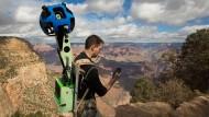 Die Vermessung der Welt: Ein Google Street View-Mitarbeiter durchquert den Grand Canyon