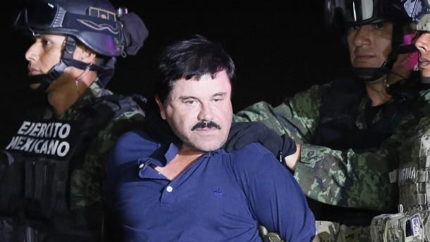 """""""El Chapo"""" klagt über Folter im Gefängnis"""