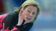Unermüdlich: Mit 42 Jahren ist Claudia Pechstein am Sonntag Weltmeisterin im Inline-Skaten geworden – in der Mastersklasse, auf der Marathondistanz.
