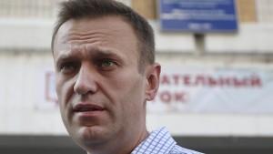 Dutzende Hausdurchsuchungen bei Nawalnyj-Unterstützern