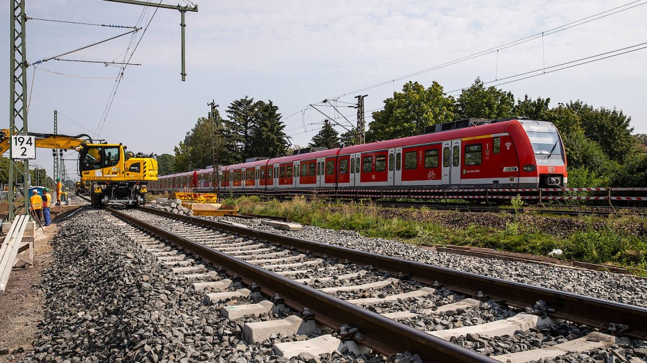 Nordwärts: Die S-Bahn in Richtung Wetterau erhält eigene Gleise.