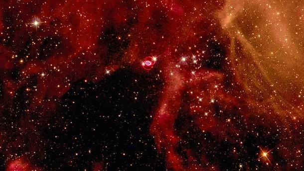 Was blieb übrig von der Supernova SN 1987A