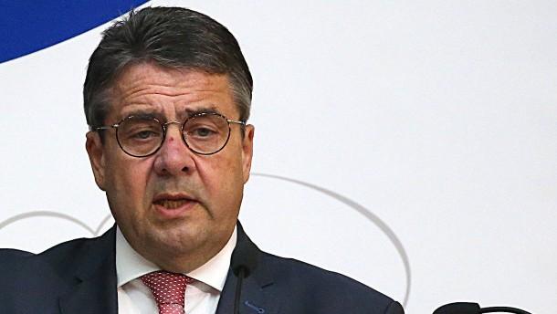 Gabriel fordert gemeinsame europäische Syrien-Strategie