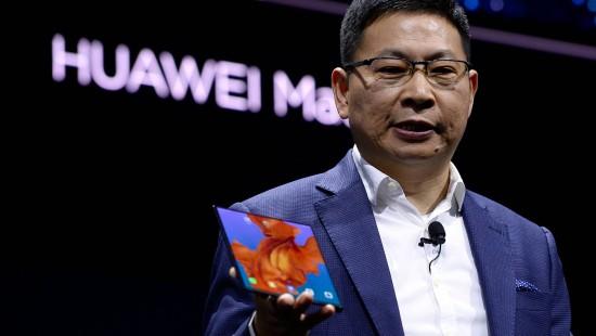 Auch Huawei zeigt faltbares Handy
