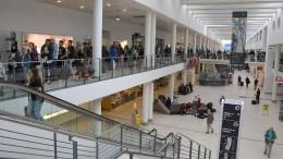 Türalarm führt zu Sperrung am Bremer Flughafen