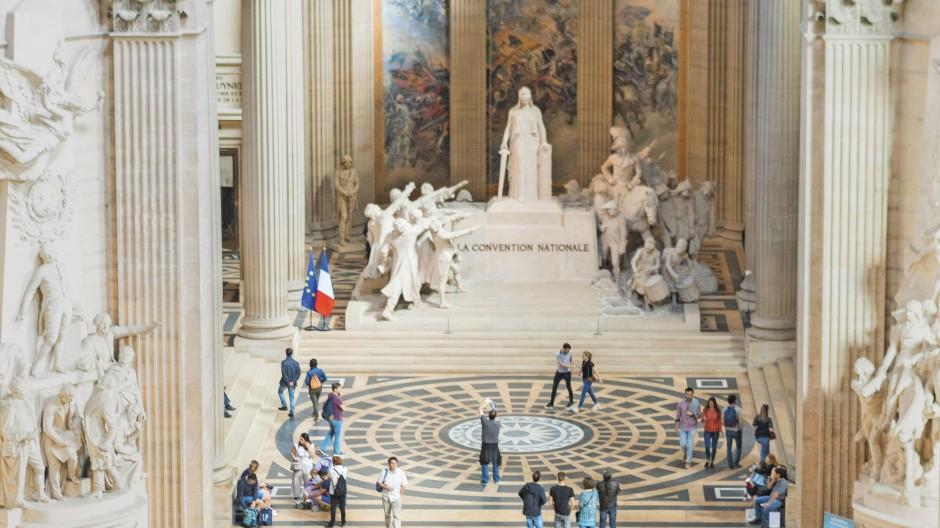 Das Innere des Panthéons in Paris