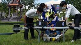 Studierende entwickeln eine bemannte Drohne