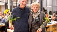 Seit an Seit: Bastian Bergerhoff und Beatrix Baumann sind die neue Doppelspitze der Frankfurter Grünen.