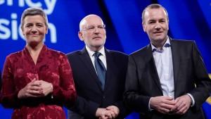 Darum wird Manfred Weber wohl nicht Kommissionspräsident