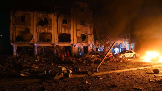Anschlag auf Hotel in Somalia